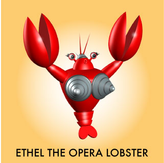 Lobster toys that screams opera